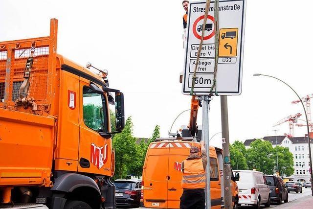 Was bedeutet das Fahrverbot für Dieselfahrzeuge in Hamburg?