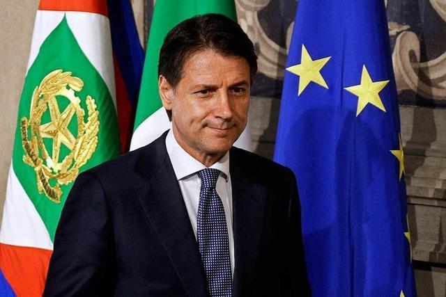 Conte soll Regierung in Italien bilden