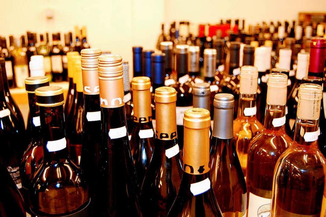 Zum internationalen Grauburgunder-Prei...nzer  jedes Jahr zahlreiche Weine ein.  | Foto: Petra Littner