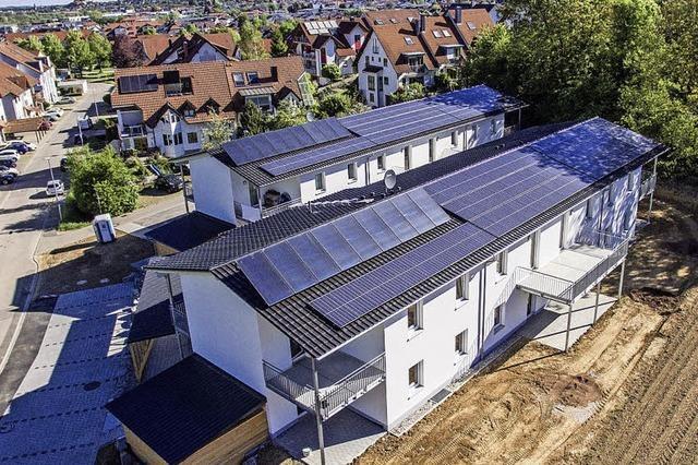 Solaranlagen auf Flüchtlingsheimen