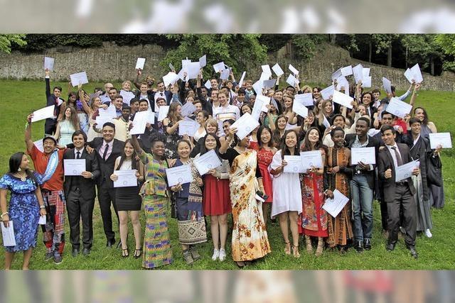 Abschlussfeier am UWC