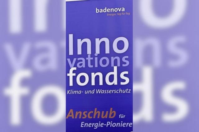 Badenova unterstützt sieben innovative Energie-Projekte in Freiburg und der Region