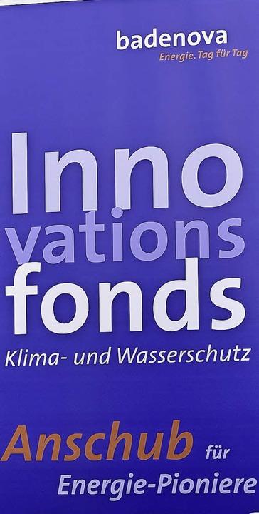 Das Plakat zum Fonds    Foto: Kunz