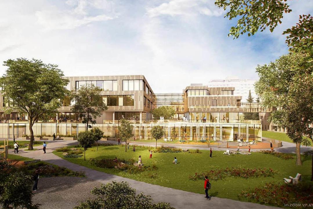 So soll die neue Kinderklinik an der B... Straße aussehen, wenn sie fertig ist.    Foto: ©Health Team Vienna