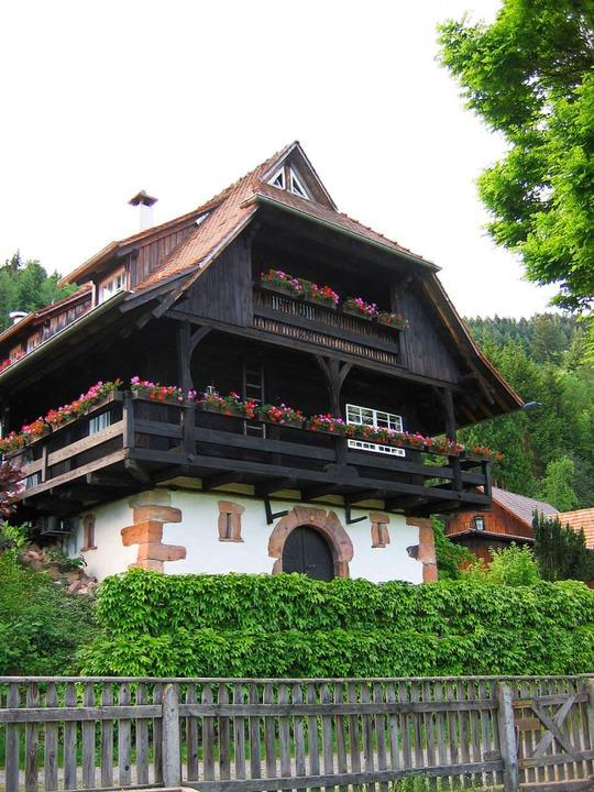 15 Autominuten von Offenburg entfernt:...nsteinhiesli oberhalb von Gengenbach.   | Foto: ANDREA MOSER