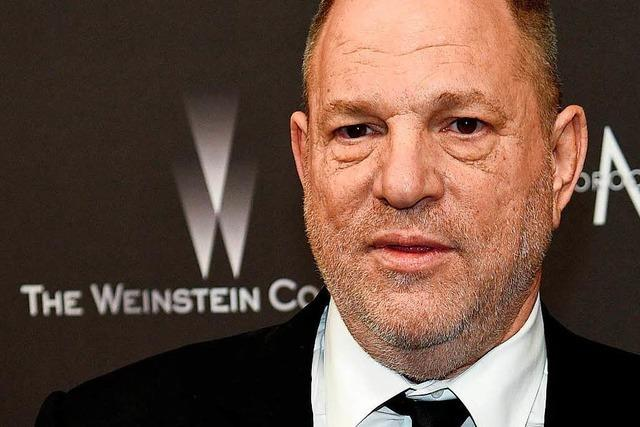 Verhaftung von Hollywood-Mogul Harvey Weinstein steht bevor