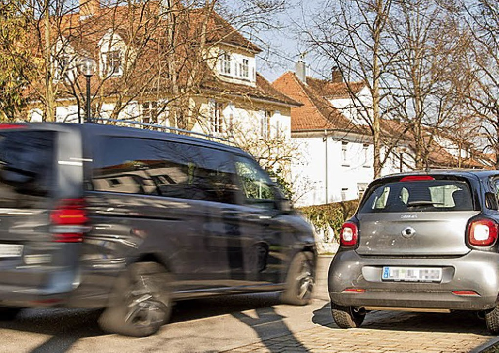 Schnell ist man zu schnell in der Stadt.   | Foto: Bosch