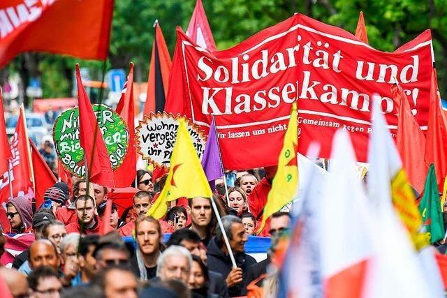 Streit um DNA-Probe eines PKK-Aktivisten bei 1. Mai-Demo
