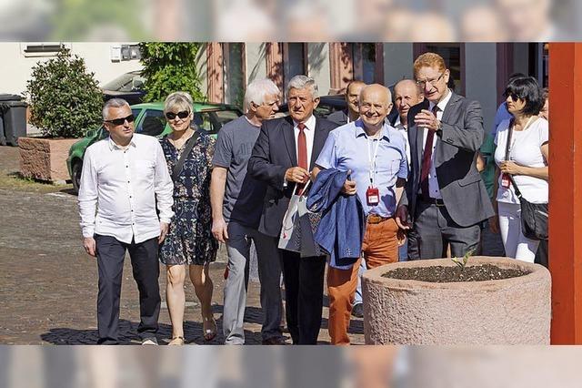 Bürgermeister aus Polen zu Gast in Herbolzheim