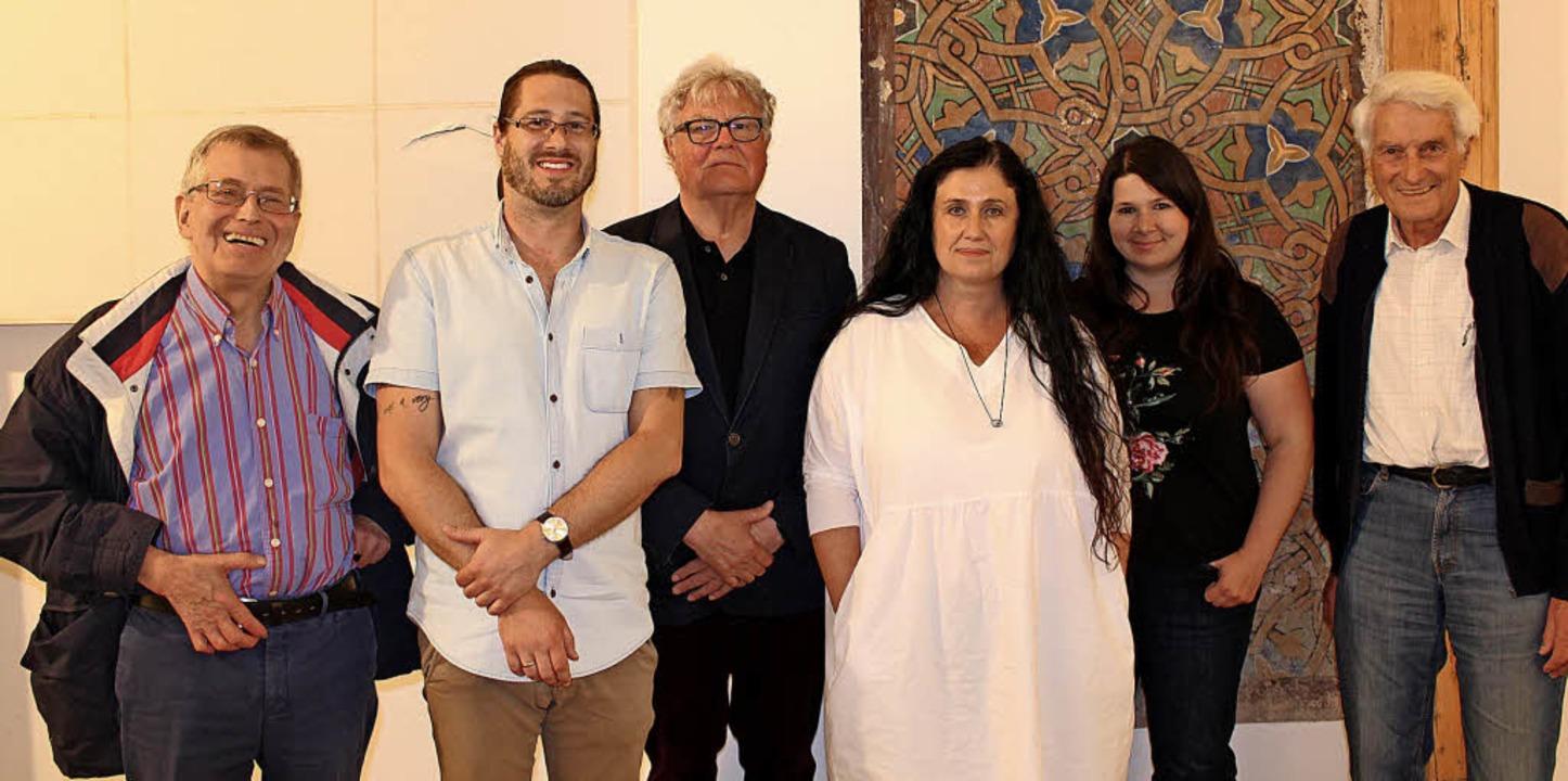 Der neue Vorstand des deutsch-israelis...Krais (stellvertretender Vorsitzende).  | Foto: Verein