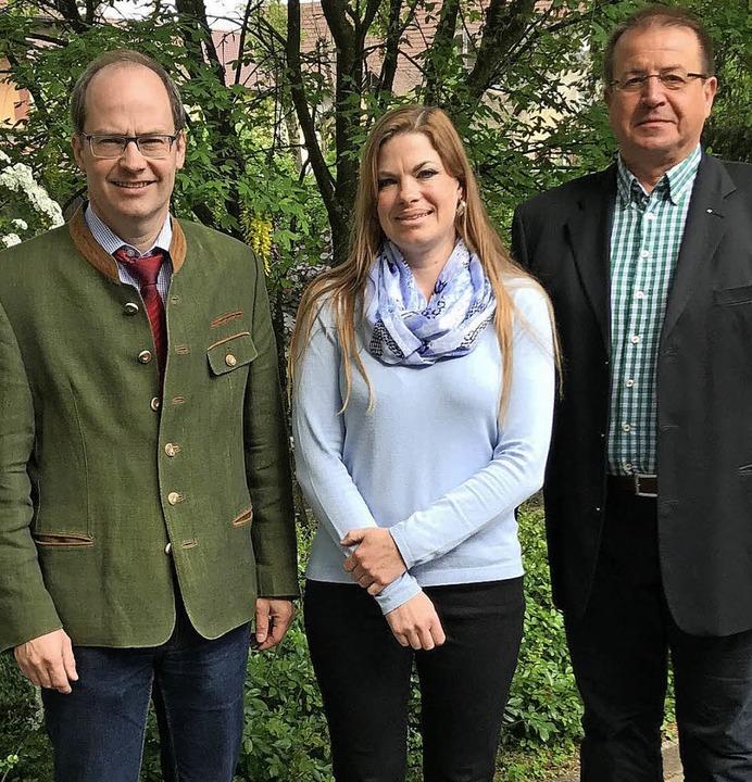 Sie haben das Gesundheitsforum Kandern...der Initiator des Forums (von links).     Foto: Privat
