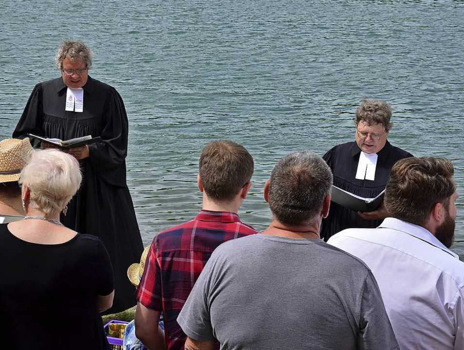 2017 gab es erstmals eine Taufe mit Rh...ter Hasenbrink am 1. Juli wiederholen.  | Foto: Evangelische Kirchengemeinde