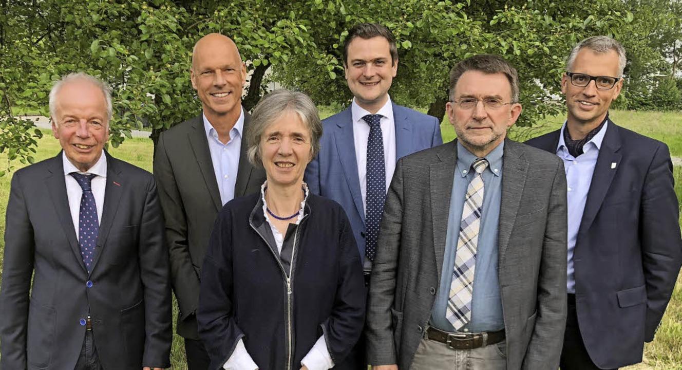 Der neu gewählte BRO-Vorstand  (v.l.):... Bechtold und Thomas Breyer-Mayländer.  | Foto: Bildungsregion Ortenau e.V.