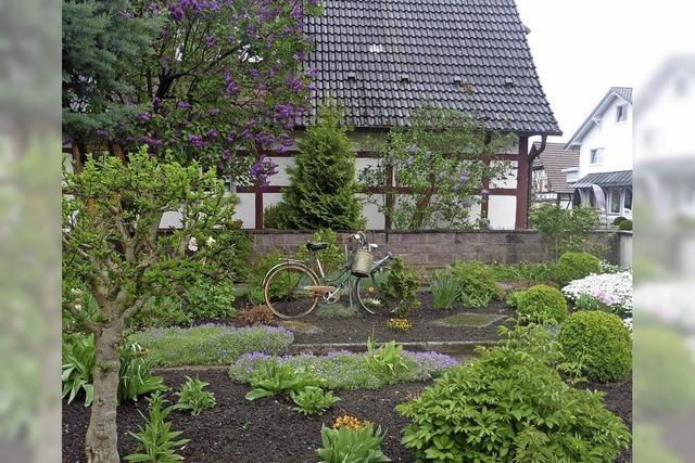 Gartenidylle in Altenheim