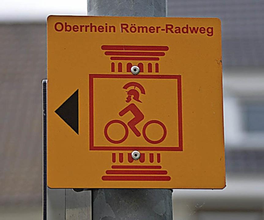 Durch den Römerradweg kommen mehr Touristen in die Gemeinde.  | Foto: Horatio Gollin