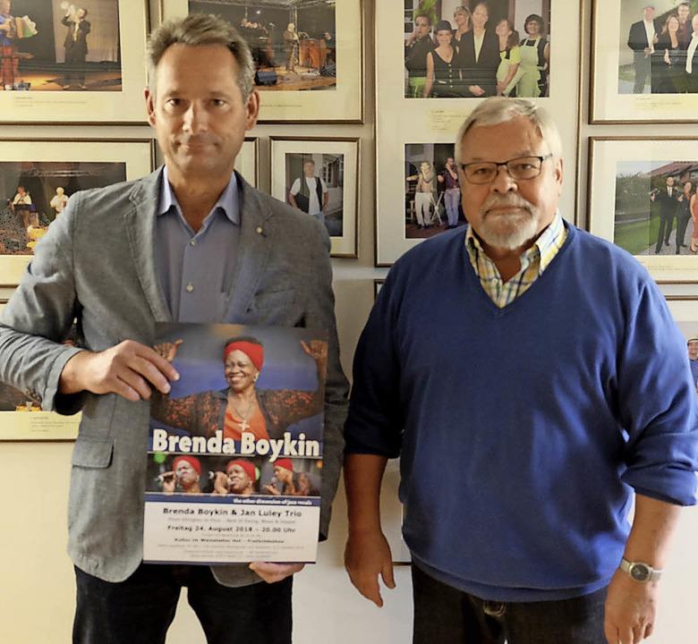 Karl-Heinz Guy (links) und Wolfgang Fr... auf die Neuauflage vom 8. Juni an.       Foto: Martin Pfefferle
