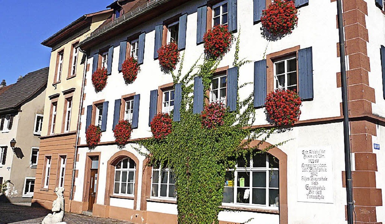Weiterhin im  Blick: das Gebäude der Hebelschule an der Torstraße.     Foto: Privat
