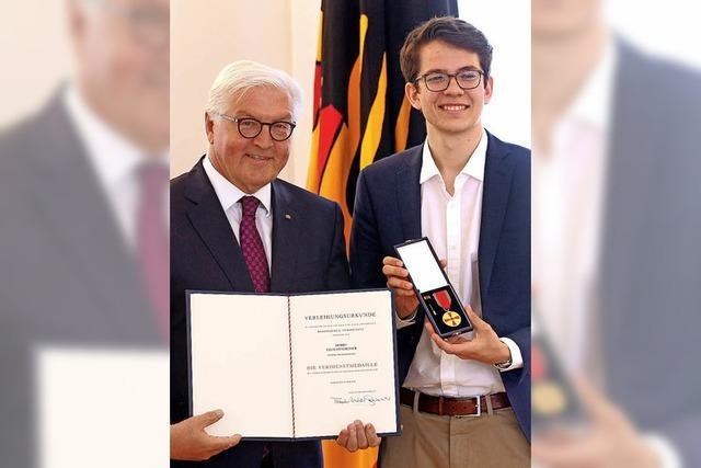 Mit Bundesverdienstkreuz nach Murg