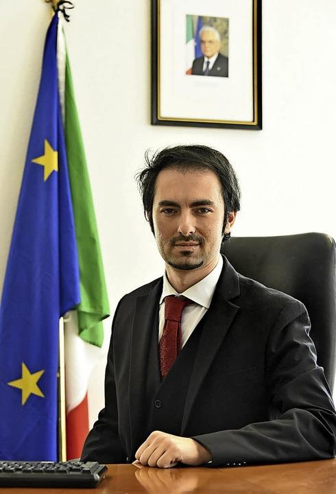Konsul Frederico Lorenzo Ramaioli     Foto: Michael Bamberger