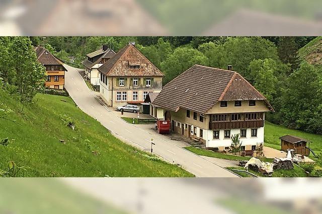 Vier Häuser, elf Einwohner