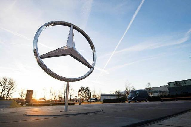 Daimler wirkt wie ein Getriebener