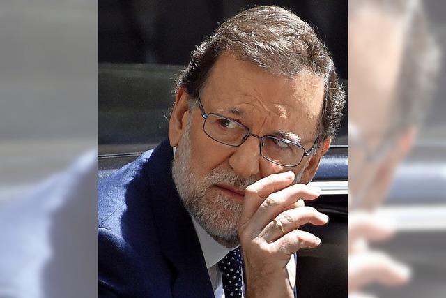 Rajoys Stuhl wackelt