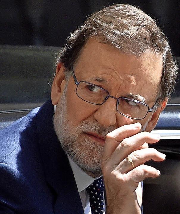 Ministerpräsident Mariano Rajoy     Foto: AFP