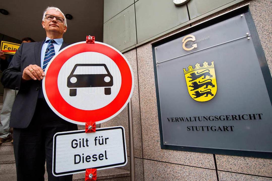 Jürgen Resch, Bundesgeschäftsführer der Deutschen Umwelthilfe (Archivbild)  | Foto: dpa