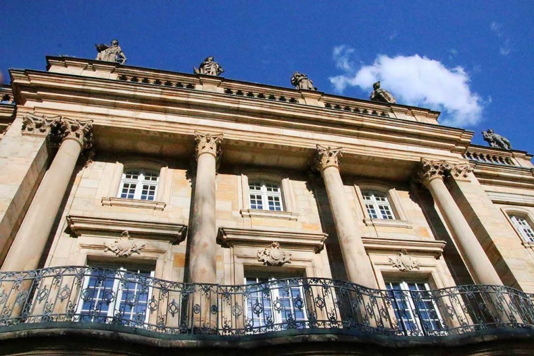 Die Fassade im französischen Barock<ppp></ppp>    Foto: Alexander Dick