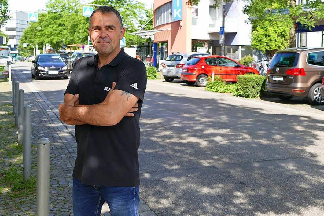 Martin Frey sorgt sich um die Zukunft ... die vom Autoverkehr abgehängt würden.  | Foto: Ulrich Senf