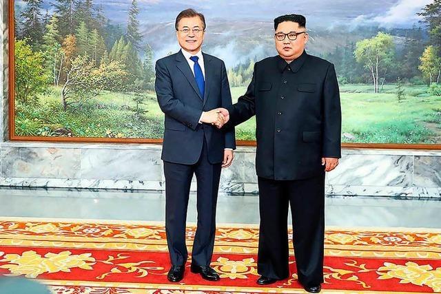Überraschendes Treffen zwischen Führern Nord- und Südkoreas