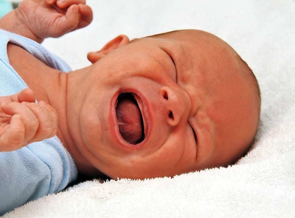 Ein schreiendes Baby ist kein Grund, die Eltern zu belehren.  | Foto: Ilka Burckhardt  (stock.adobe.com)