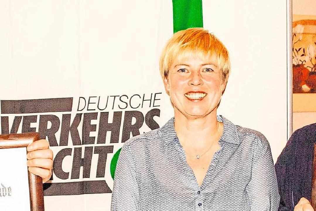 Michaela Jehle, Vorsitzende der Verkehrswacht im Landkreis Waldshut  | Foto: Peter Rosa