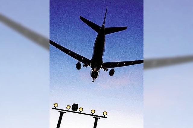 Verfahrene Situation in der Luft