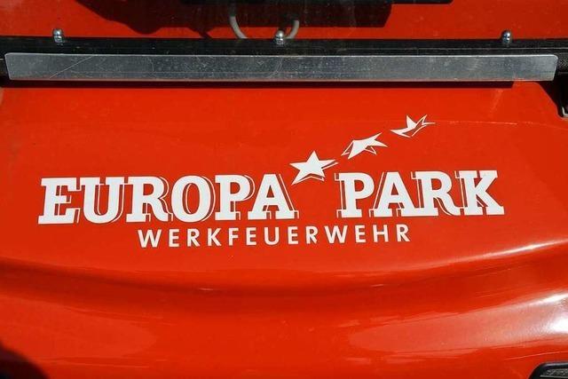 Die Werkfeuerwehr im Europa-Park: Eine Feuerwehr, die man nicht sieht