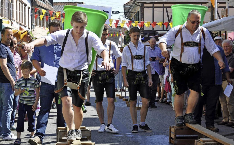 Einer der Höhepunkte der Ihringer Wein...Weinfest findet zum nun 42. Mal statt.  | Foto: Archiv: Kai Kricheldorff