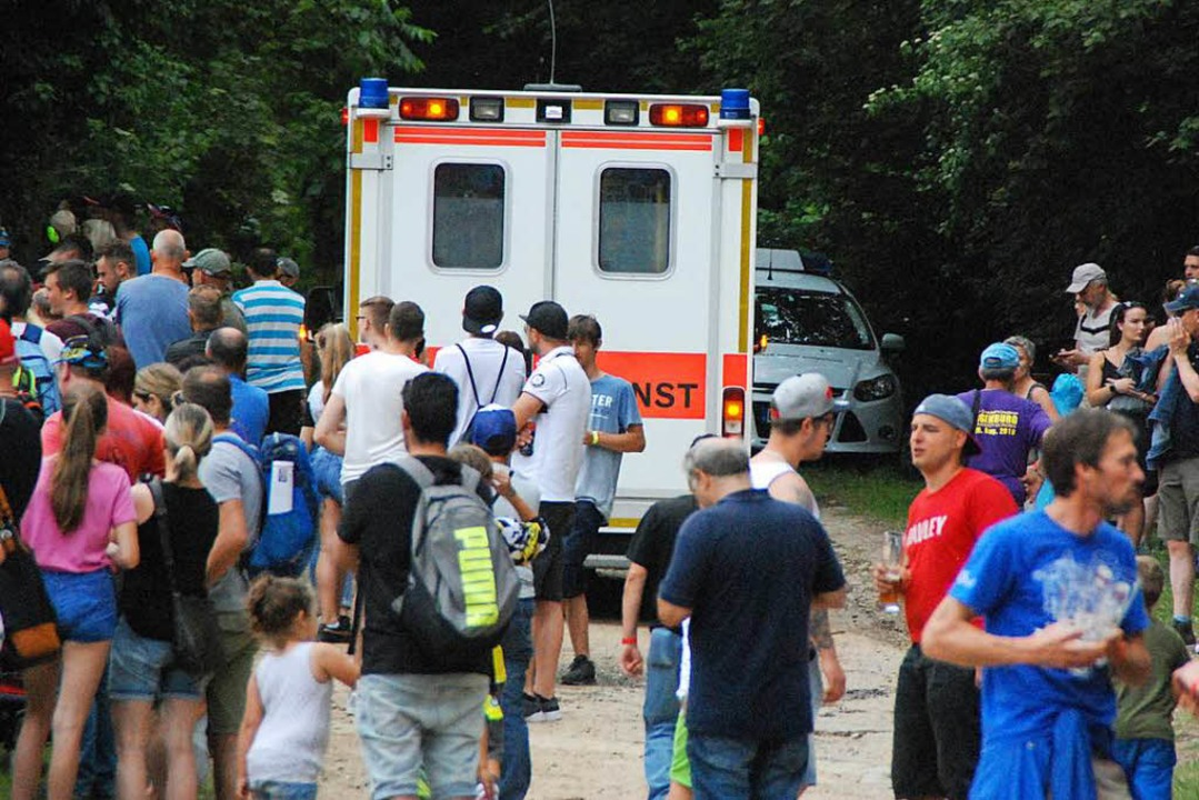 Schwerer Unfall beim Motocross.    Foto: Maja Tolsdorf