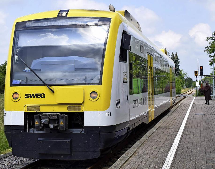 Soll umweltfreundliche in die Zukunft fahren: die Ortenau-S-Bahn.  | Foto: Michaela Gabriel