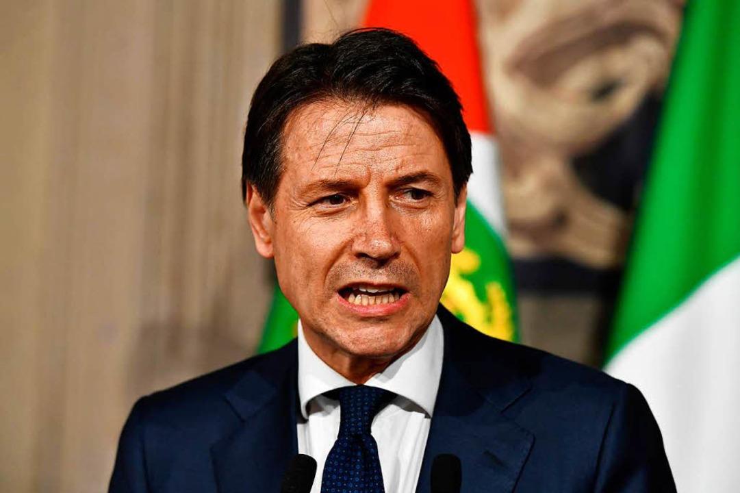 Giuseppe Conte  | Foto: AFP
