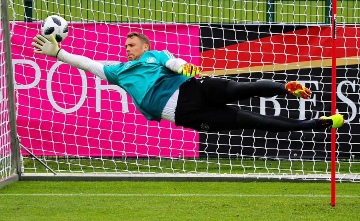 Manuel Neuer.  | Foto: dpa