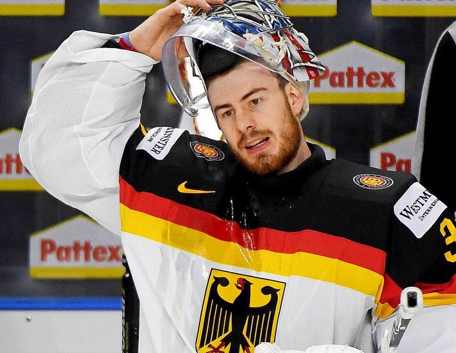 Kommt sein Name auf den Cup? Keeper Ph...ikot der deutschen Nationalmannschaft.  | Foto: dpa