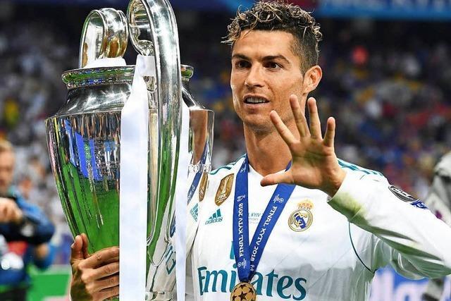 Kokettiert Cristiano Ronaldo mit dem Abschied von Real Madrid?