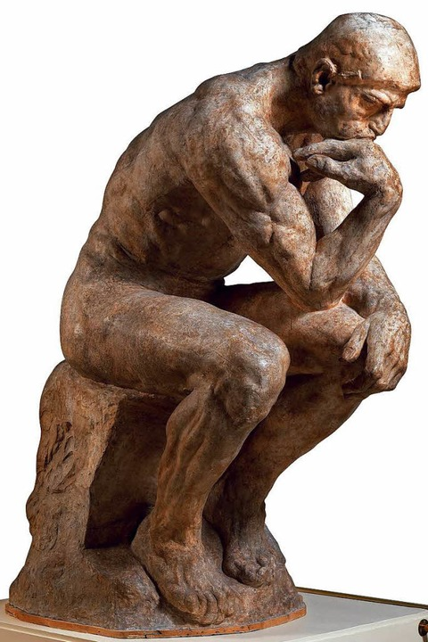 Statt klug klingende Sprüche zu posten: lieber mal nachdenken.  | Foto: Musée Rodin (photo Christian Baraja)