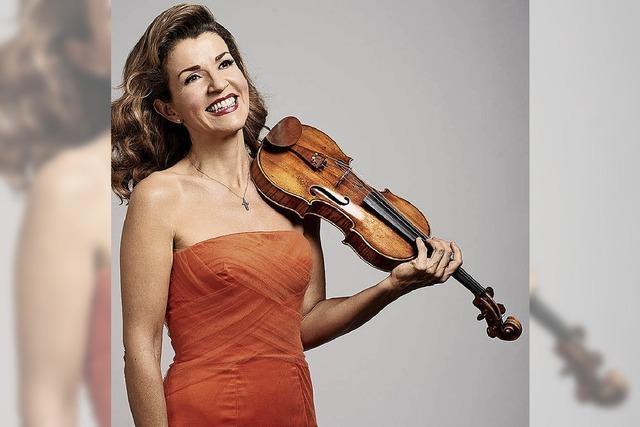 Anne-Sophie Mutter (Violine) und Lambert Orkis (Klavier) im Konzerthaus Freiburg
