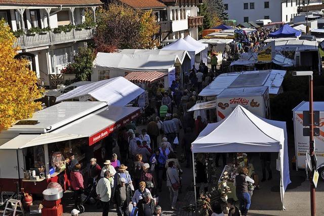 Marktstände bleiben in der Bühlstraße