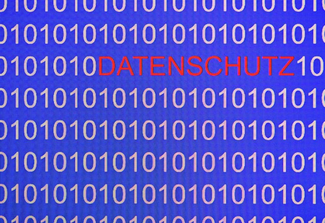 Die neue Datenschutzrichtlinie ist in ...öffingen erwartet dadurch mehr Arbeit.  | Foto:  Patrick Pleul/dpa