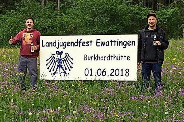 Landjugend Ewattingen geht beim Feiern in die Vollen