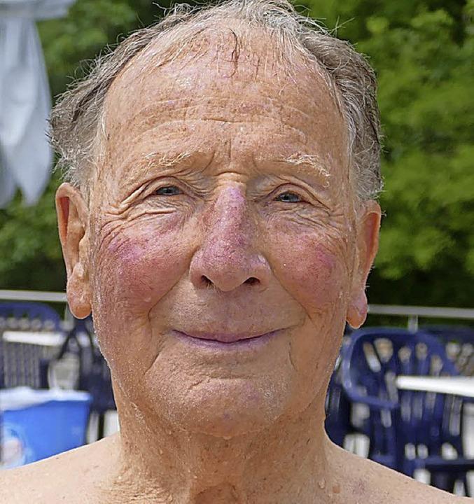 <BZ-Keyword>Klaus John (81)</BZ-Keywor...r bis nach Rheinfelden definitiv wert.    Foto: Maren Seifert