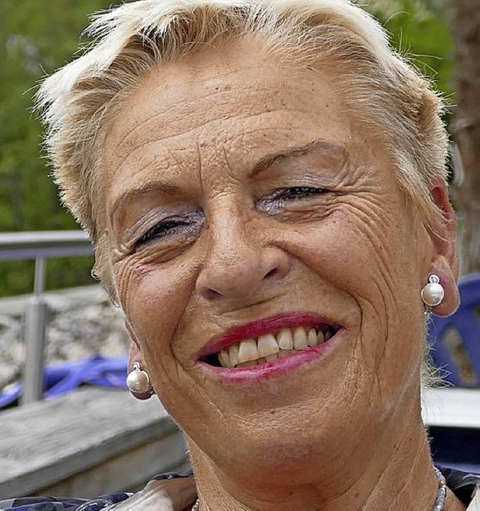 <BZ-Keyword>Friedhilde Visentin-Trinle... sind sehr freundlich und hilfsbereit.    Foto: Maren Seifert