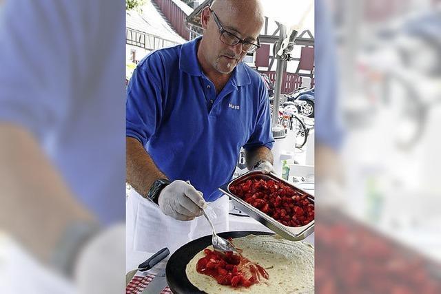 Schlemmen mit Erdbeeren ist ein wahres Fest